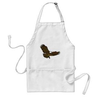 Creative eagle standard apron