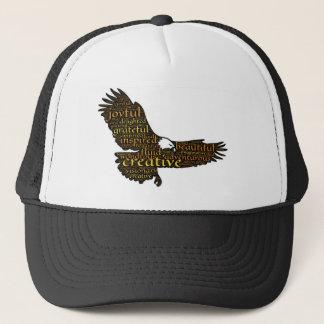 Creative eagle trucker hat