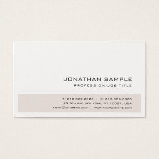 Creative Elegant Colors Trendy Sleek Professional Business Card