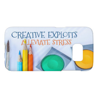 Creative Exploits Alleviate Stress