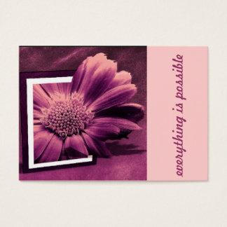 creative flower business card