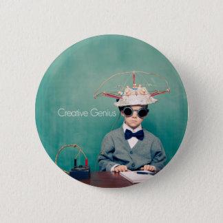 Creative Genius Designs 6 Cm Round Badge