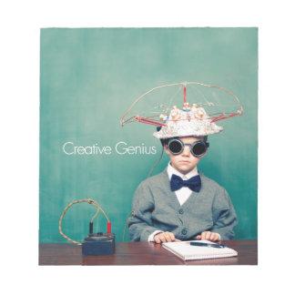Creative Genius Designs Memo Notepad