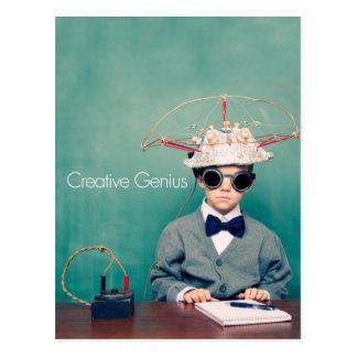 Creative Genius Designs Postcard
