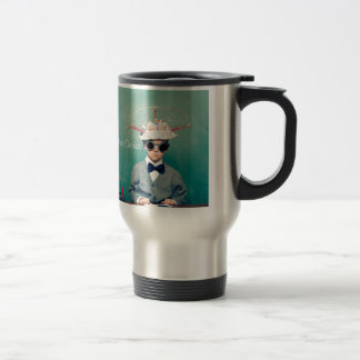 Creative Genius Designs Stainless Steel Travel Mug
