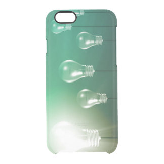 Creative Innovation and Glowing Concept as a Art Clear iPhone 6/6S Case