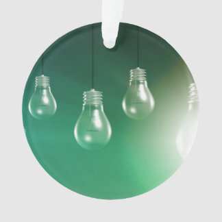 Creative Innovation and Glowing Concept as a Art Ornament