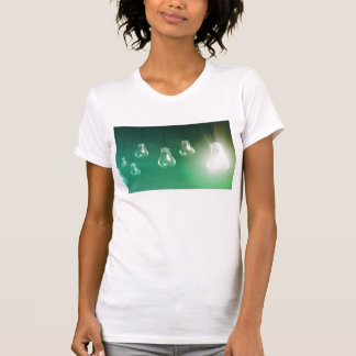 Creative Innovation and Glowing Concept as a Art T-Shirt