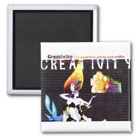 Creative Inspiration Magnet, Rebecca Tedder Magnet