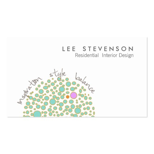 creative interior design business card zazzle
