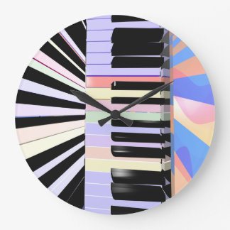 Creative Keyboard Colors Clocks