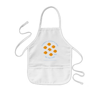 Creative Kids Inspirational Goldfish Art Smock Kids Apron