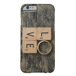 Creative Love Word with Srcabble Elements Barely There iPhone 6 Case