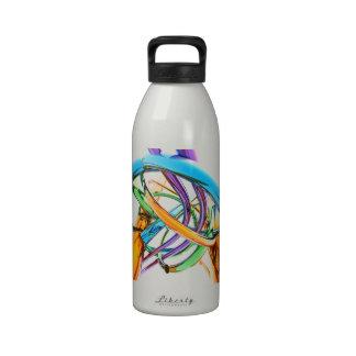 Creative Metal Twist Water Bottle