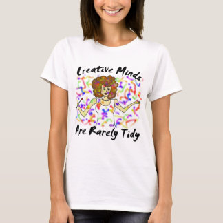Creative Minds Are Rarely Tidy Night Shirt