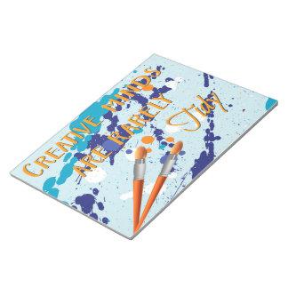 Creative notebook notepad