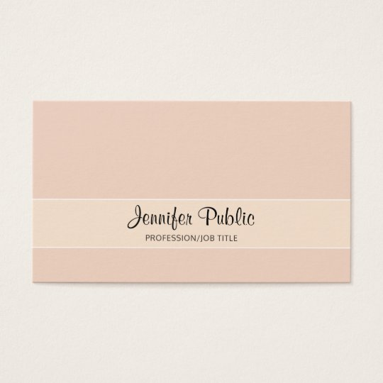 Creative Professional Design Elegant Colours Business Card
