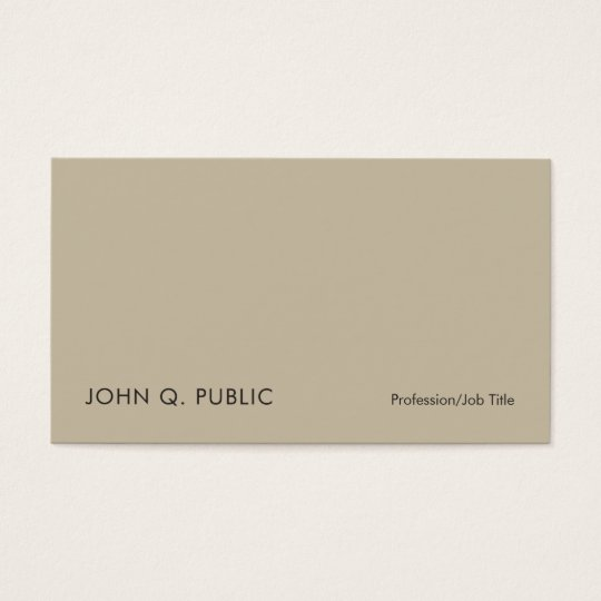 Creative Professional Elegant Vintage Colours Business Card