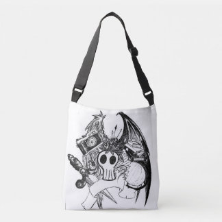 Creative Skull Crossbody Bag