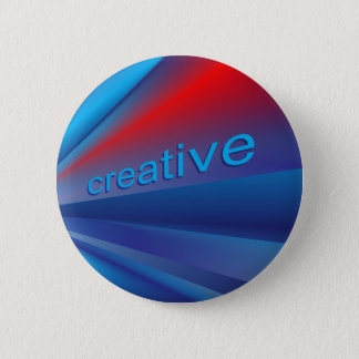 Creative Speedy Blends 6 Cm Round Badge