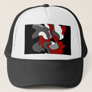 Creative spot - red trucker hat