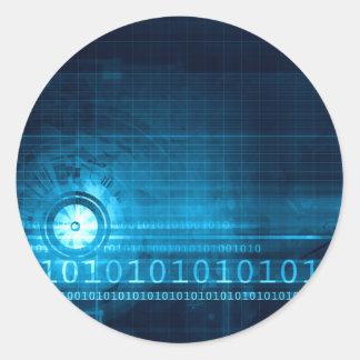 Creative Technology Round Sticker