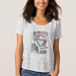 Creative women's Slouchy t-shirt