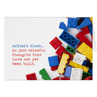 Creative Writer's Block Solution Card