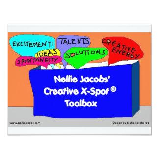Creative X-Spot® Toolbox 11 Cm X 14 Cm Invitation Card