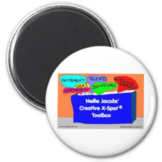 Creative X-Spot® Toolbox 6 Cm Round Magnet