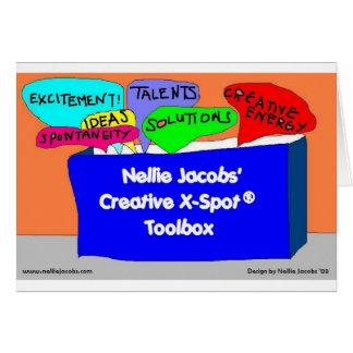 Creative X-Spot® Toolbox Greeting Card