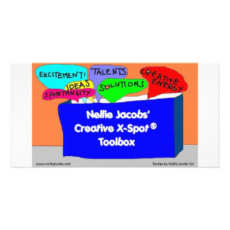 Creative X-Spot® Toolbox Customized Photo Card