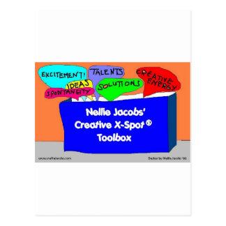 Creative X-Spot® Toolbox Post Cards
