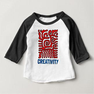 """Creativity"" Baby 3/4 Raglan T-Shirt"