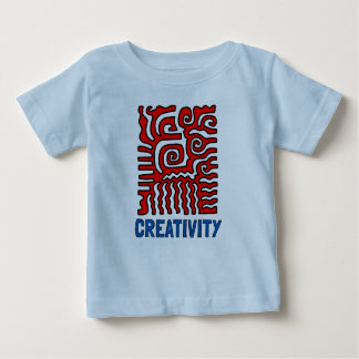 """Creativity"" Baby Fine Jersey T-Shirt"
