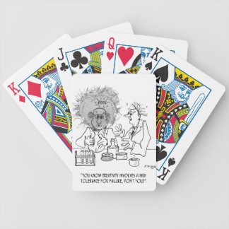 Creativity Cartoon 1868 Bicycle Playing Cards