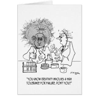 Creativity Cartoon 1868 Card