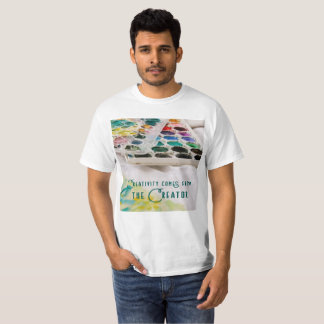 Creativity Comes From The Creator T-Shirt