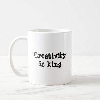 Creativity is King Coffee Mug