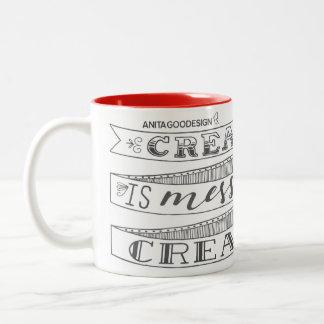 Creativity is Messy and I am Very Creative Mug