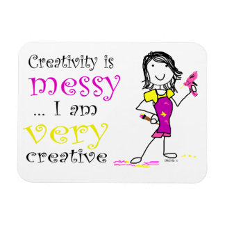 Creativity is Messy Magnet