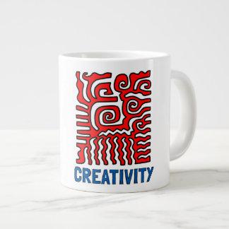 """Creativity"" Jumbo Mug"