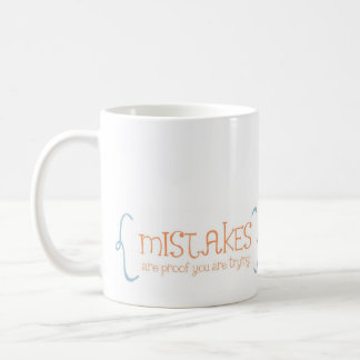 creativity = mistakes coffee mug