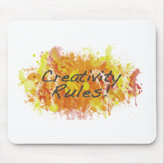 Creativity Rules! Mouse Pad