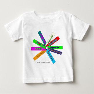Creativity Thesaurus Wheel Baby T-Shirt