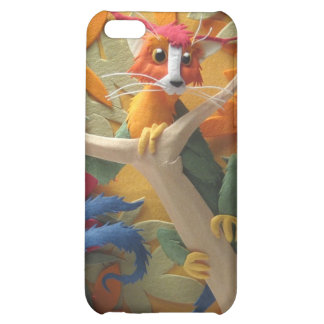 Creature in the Trees iPhone 4/4s Case