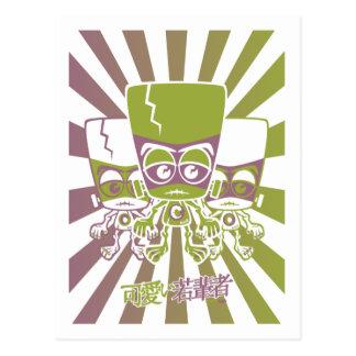 Creature Mascot Post Card