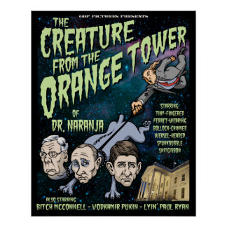 Creature of Dr. Naranja Poster