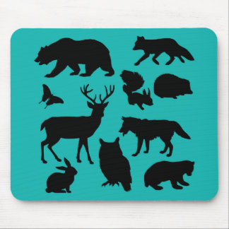 Creature of forest mouse pad