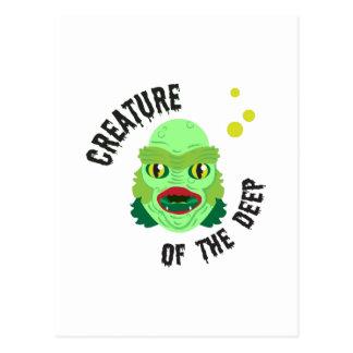 Creature of the Deep Postcard